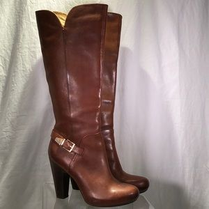 Sofft Felicia Tall Boot - size 8 - Tan